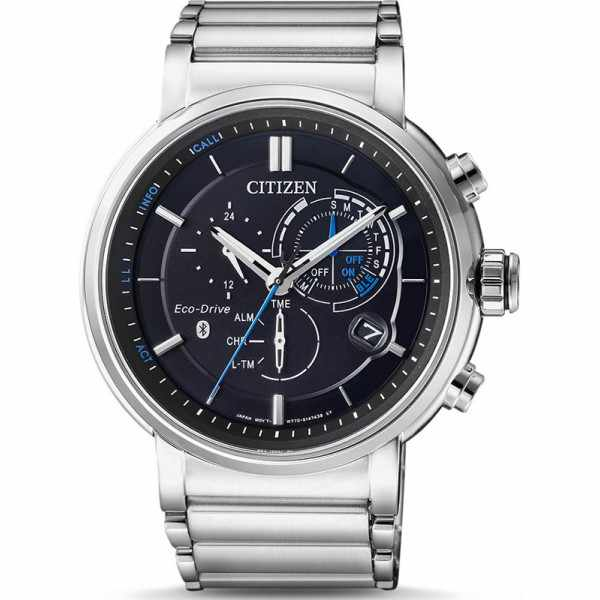 CITIZEN Bluetooth Proximity Smartwatch, EcoDrive Solar, Edelstahl_15292