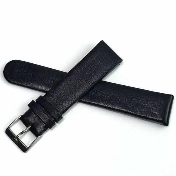 FORTIS Uhrenband Leder 21mm, schwarz_15340