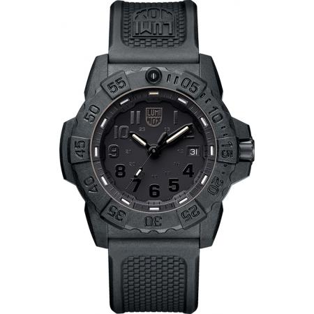 LUMINOX Navy Seals Taucheruhr schwarz