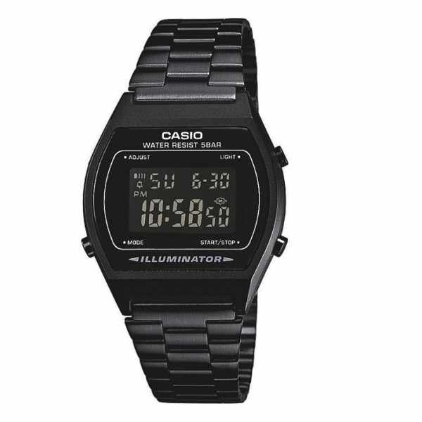 CASIO Retro LCD, Illuminator, Digitaluhr, schwarz_154