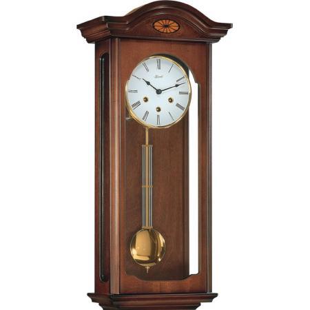 HERMLE, Regulator, Holz Wanduhr mit Pendel, mechanisch, Westminster 64