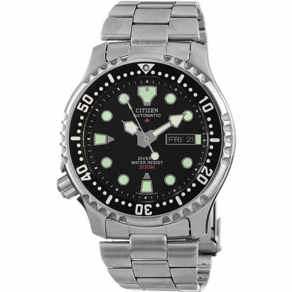 CITIZEN Promaster Sea, Diver Automatik, Taucheruhr schwarz, Edelstahl_15735