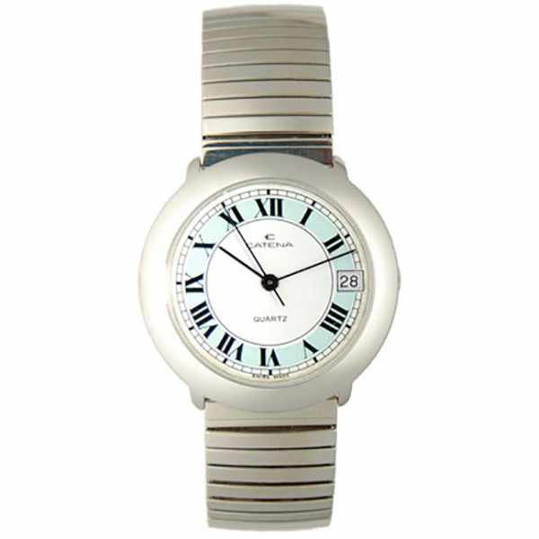CATENA Stretch Senior Quartz Armbanduhr, 33 medium römisch