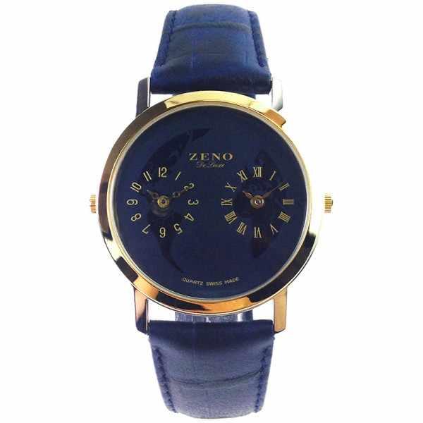 ZENO, Dual Time, Zweizeitenuhr Nr 4, Quartzuhr_16095