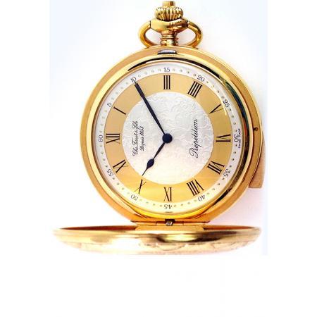 Retro Taschenuhr Handaufzug, TISSOT 5 Minuten Repetition_16111