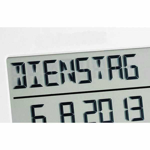 TFA LCD Funk Tisch-Wanduhr mit ausgeschriebenem Wochentag_1614