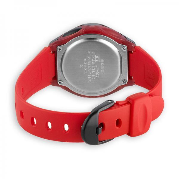 CASIO LCD Illuminator Sportuhr klein, schwarz-rot_16386