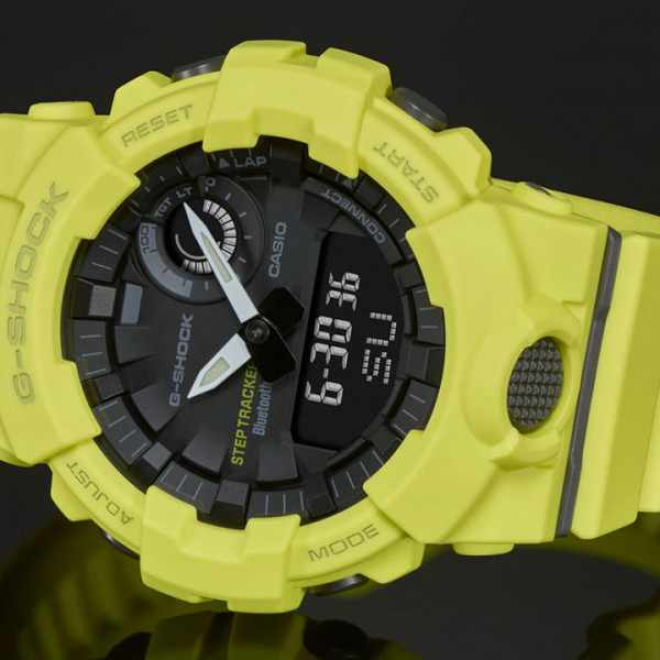 G-SHOCK Bluetooth Stepptracker Digitaluhr, gelb_16569