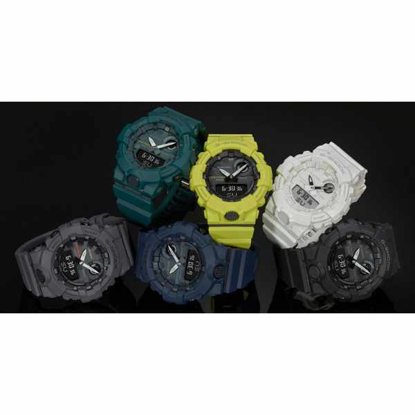 G-SHOCK Bluetooth Stepptracker Digitaluhr, gelb_16571