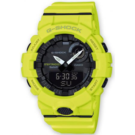 G-SHOCK Bluetooth Stepptracker Digitaluhr, gelb