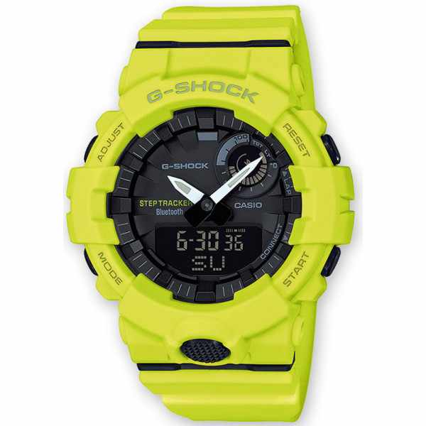 G-SHOCK Bluetooth Stepptracker Digitaluhr, gelb_16573