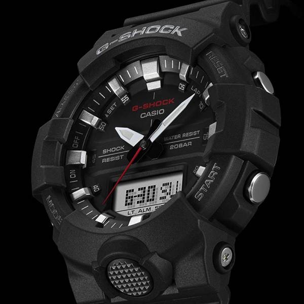 G-SHOCK Bluetooth Stepptracker Digitaluhr, schwarz_16605