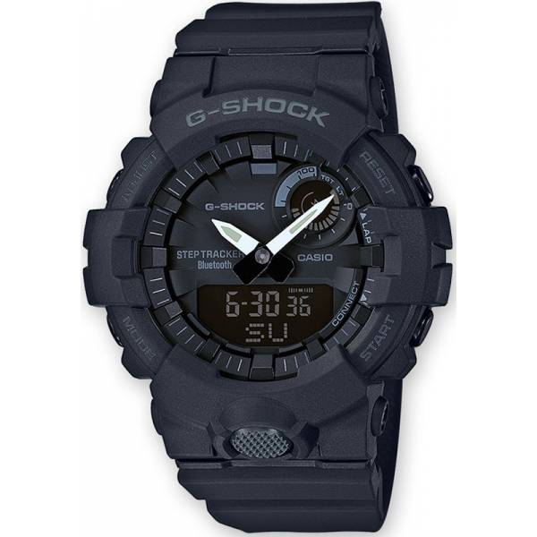 G-SHOCK Bluetooth Stepptracker Digitaluhr, schwarz_16607