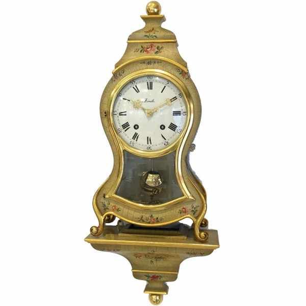 ZENITH Neuenburger Pendule, Louis XVI gold/bunt Occasion_16652