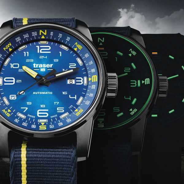 TRASER P68 Pathfinder Automatik Nato blau_16668