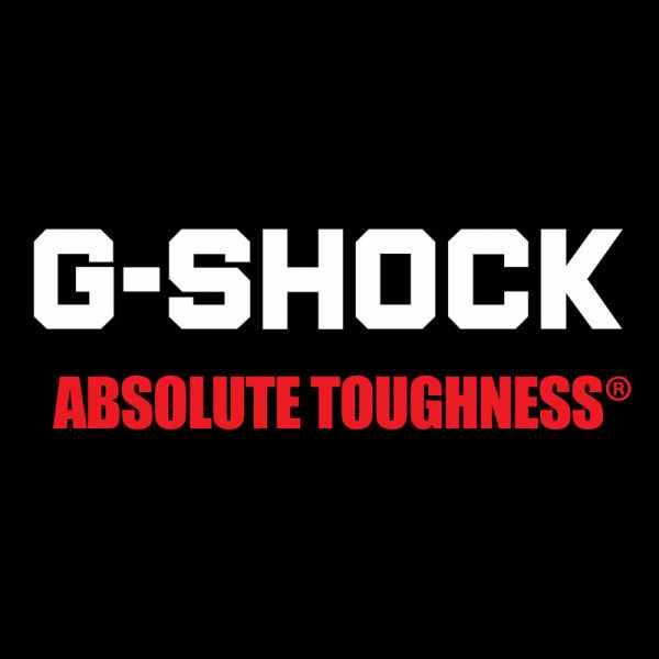 G-SHOCK Retro Blackout, LCD Digitaluhr, schwarz-rot_16743