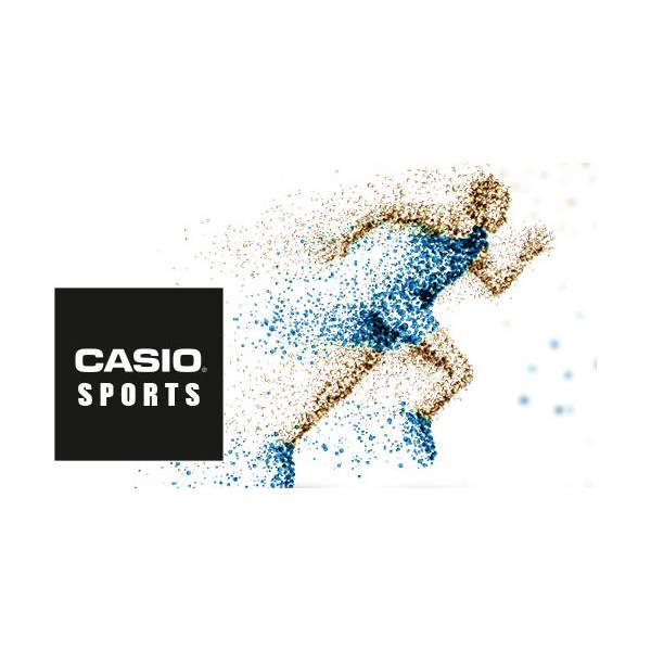 CASIO LCD Illuminator Sportuhr klein, silber-schwarz_16850