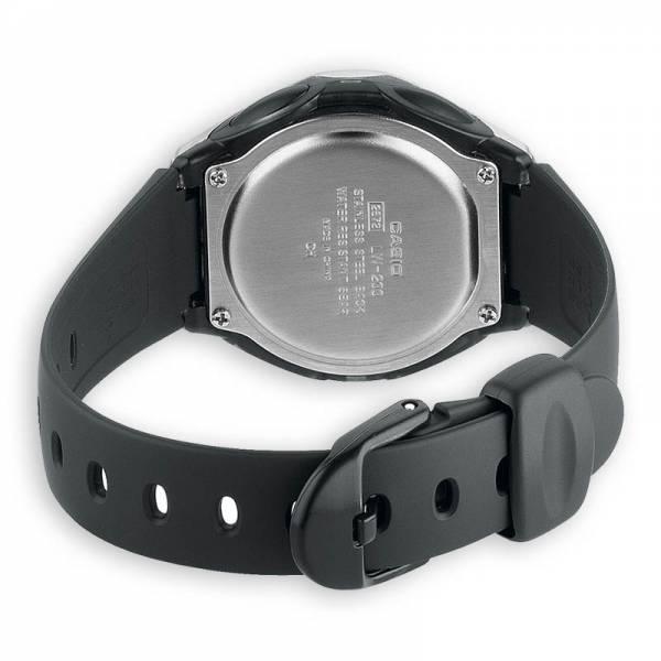 CASIO LCD Illuminator Sportuhr klein, silber-schwarz_16928
