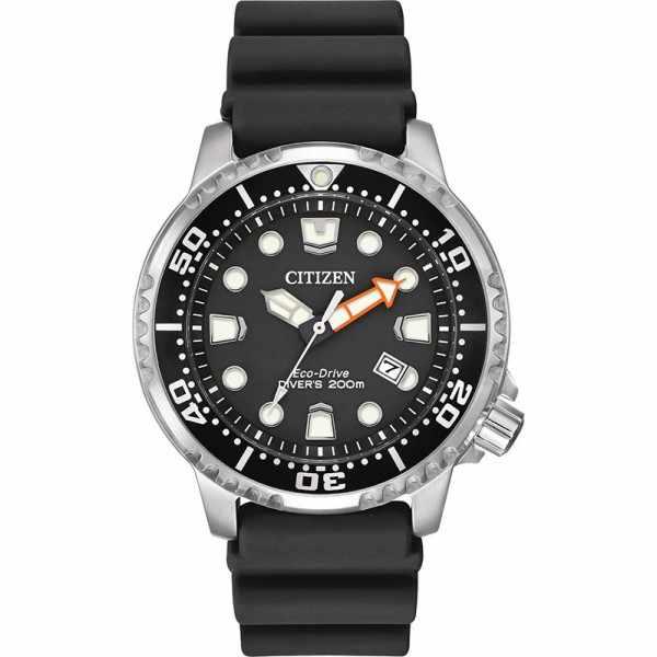 CITIZEN Promaster Eco-Drive Diver, Solar Taucheruhr, schwarz_16986