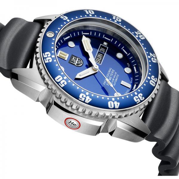 LUMINOX Deep Dive, Automatik Taucheruhr, Edelstahl blau_17033