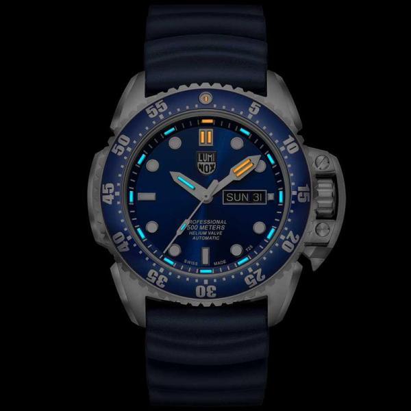 LUMINOX Deep Dive, Automatik Taucheruhr, Edelstahl blau_17034