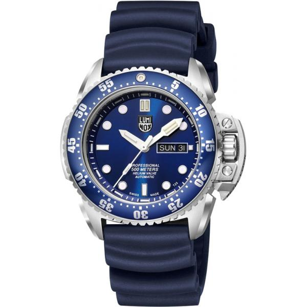 LUMINOX Deep Dive, Automatik Taucheruhr, Edelstahl blau_17042