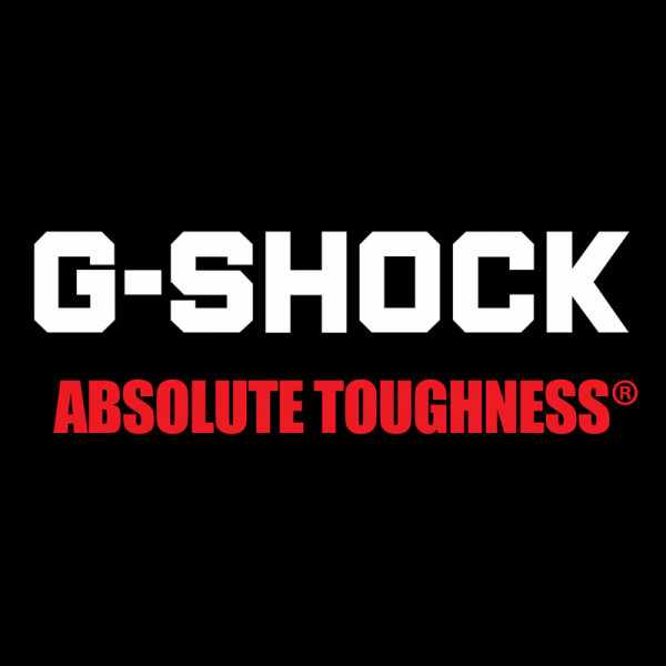 G-SHOCK Retro White, LCD Digitaluhr, weiss_17059