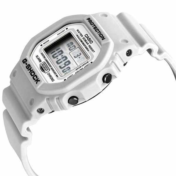 G-SHOCK Retro White, LCD Digitaluhr, weiss_17061