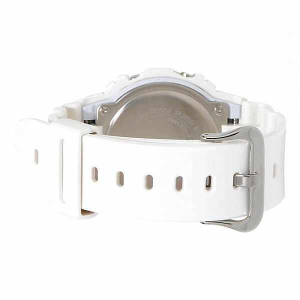 G-SHOCK Retro White, LCD Digitaluhr, weiss_17062
