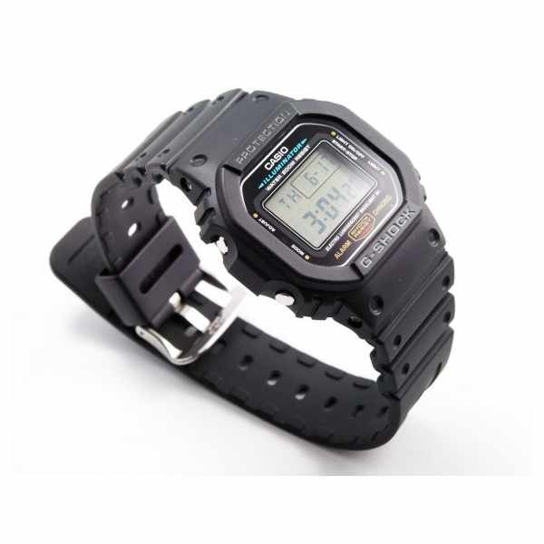 G-SHOCK, Retro, Timecatcher, LCD Digitaluhr, schwarz_171
