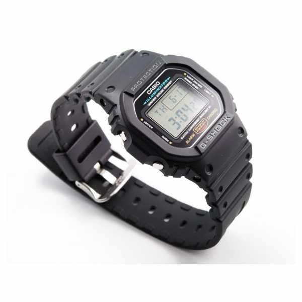 G-SHOCK Retro Timecatcher, LCD Digitaluhr, schwarz_171