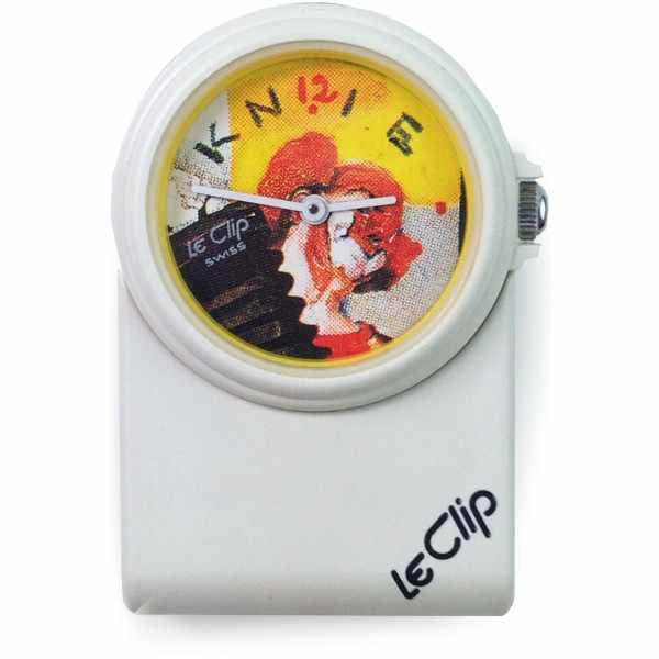 LE CLIP Klippuhr, Rolf Knie, Charlie Rivel, Clipper_17231