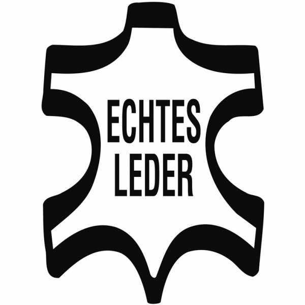 HIRSCH, Uhrenband Leder+Caoutchouc 20mm, schwarz_17347