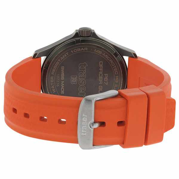 TRASER P67 Officer Pro GunMetal, Lumiuhr orange_17486