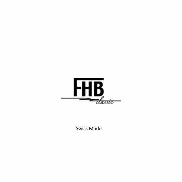 FHB Opaque Fun Watch, Quartz Uhr mit Gliederarmband schwarz/gelb_17586
