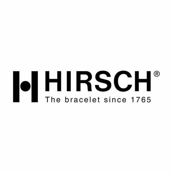 HIRSCH Uhrenband Leder+Kautschuk Paul 20mm, schwarz_18029