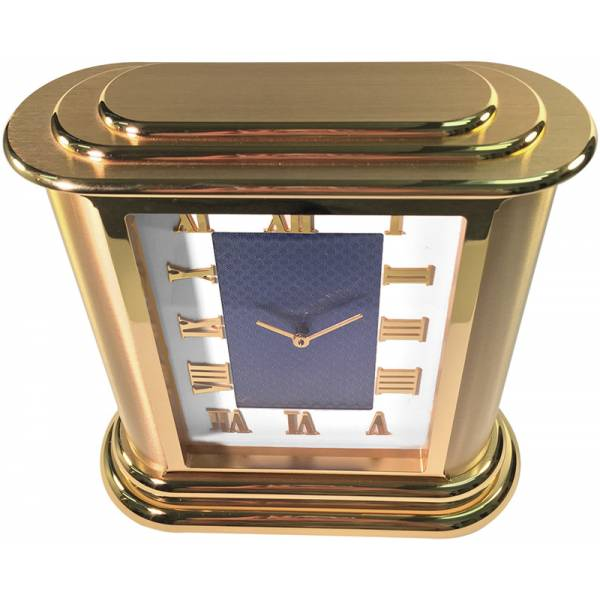 IMHOF, NOS, De Luxe, Tischuhr, vergoldet_1819