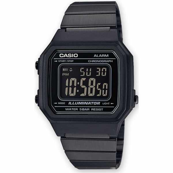 CASIO Retro LCD, Illuminator medium, Digitaluhr, schwarz_18226