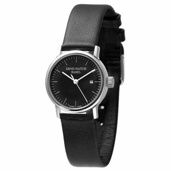 ZENO-WATCH BASEL, Bauhaus Femina, Automatik Uhr, schwarz_1824