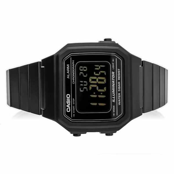 CASIO Retro LCD, Illuminator medium, Digitaluhr, schwarz_18260