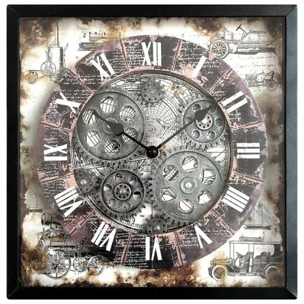 RESIDENCE Gear Clock, Astrolabium Quartz Wanduhr_18561