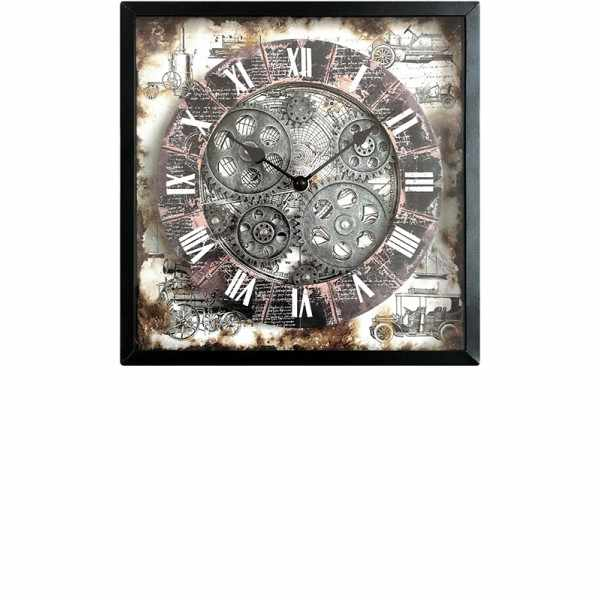 RESIDENCE Gear Clock, Astrolabium Quartz Wanduhr_18584