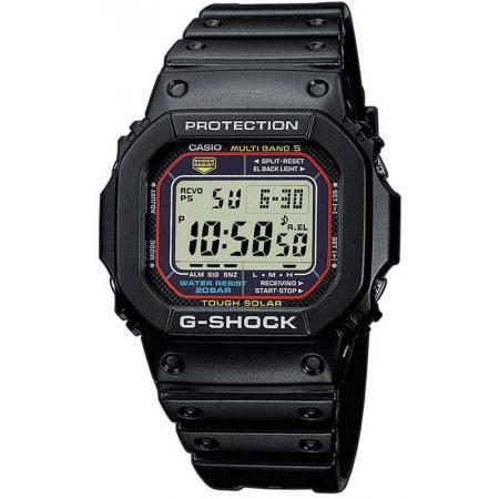 G-SHOCK, Retro, Toughtimer, LCD, Solar Funkuhr, schwarz