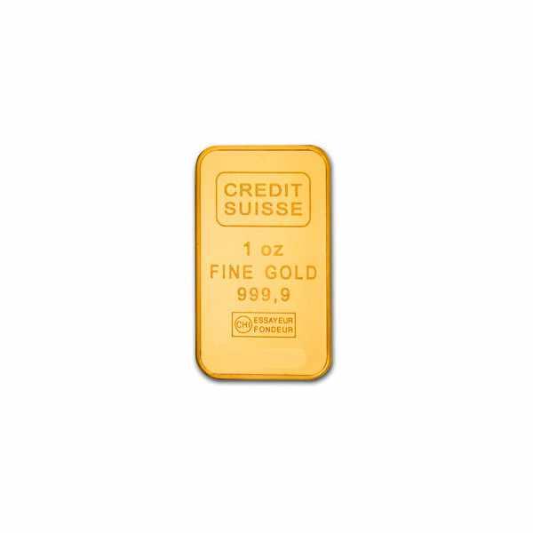 CATENA Lingot d'or, Quartzuhr mit 1g Goldbarren, vergoldet rot_18841