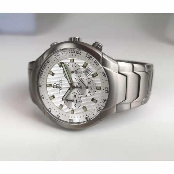RENDEX, Tachymeter Chronograph Titan Quartzuhr_19020