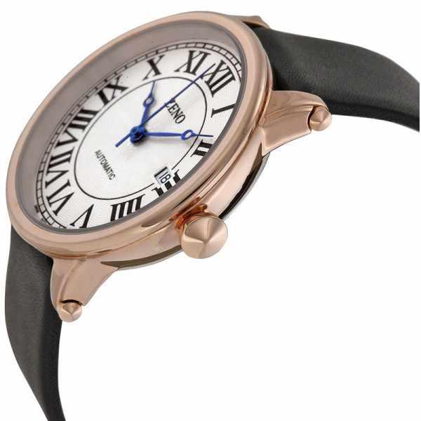 ZENO, Retro Roma Art Deco XL, Automatik Uhr, rosé vergoldet_1943