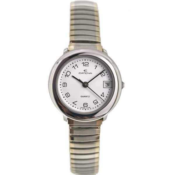 CATENA Stretch Senior Quartz Damenuhr, 25 small bicolor_19656
