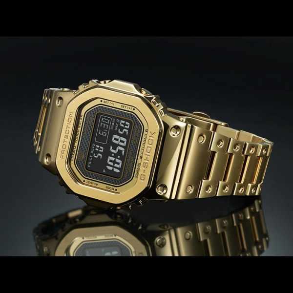 G-SHOCK Bluetooth Digital-Funkuhr Edelstahl gold/schwarz_19790