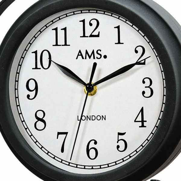 AMS London Station Style Garden Clock, drehbare Bahnhofsuhr_1995
