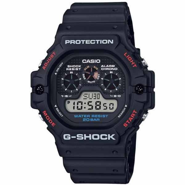 G-SHOCK Classic Protection, LCD Digitaluhr schwarz_19950